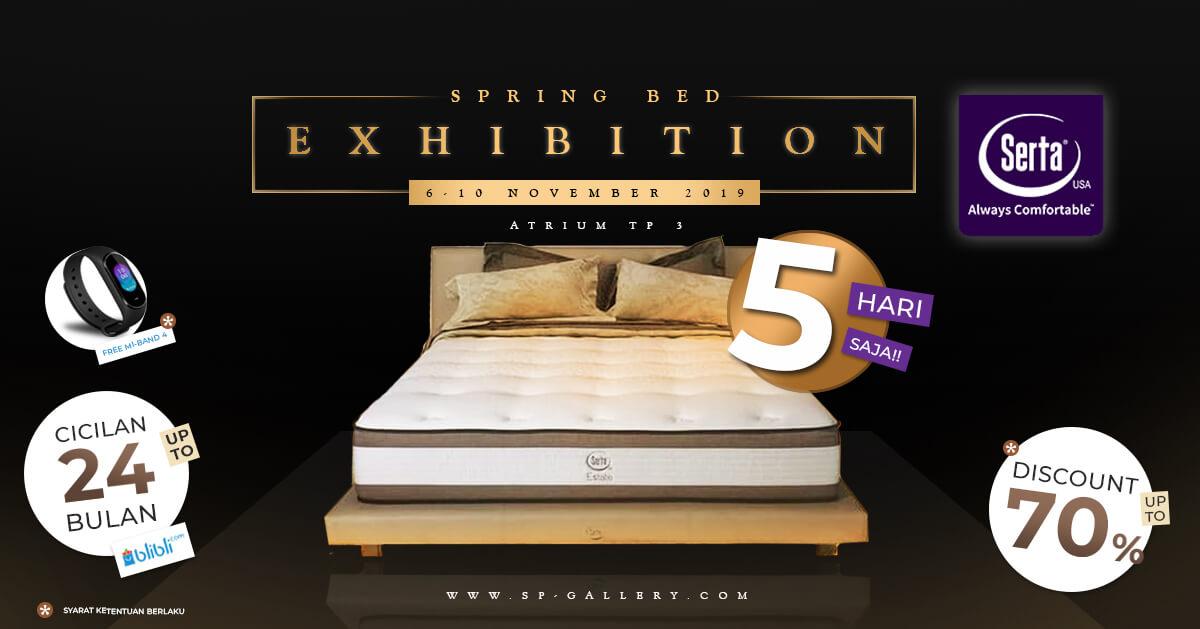 Pameran Spring Bed Serta SP Gallery Tunjungan Plaza Surabaya