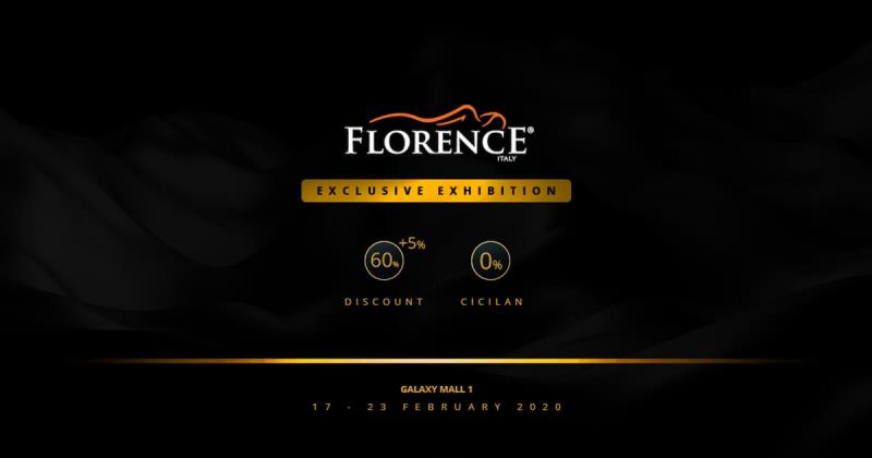 Pameran Spring Bed Florence SP Gallery Galaxy Mall 1 Surabaya