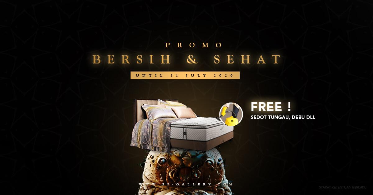 Promo Gratis Jasa Sedot Tungau, Bakteri, dan Debu SP Gallery