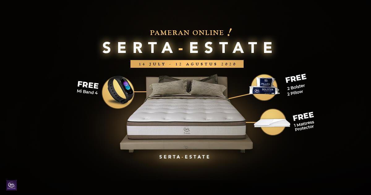 Pameran Online Promo Serta Estate, Matras Anak Muda Masa Kini