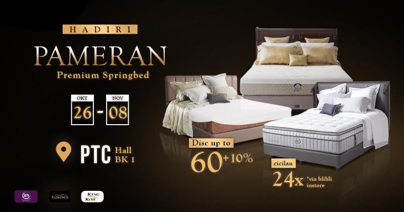 Pameran Spring Bed SP Gallery Surabaya