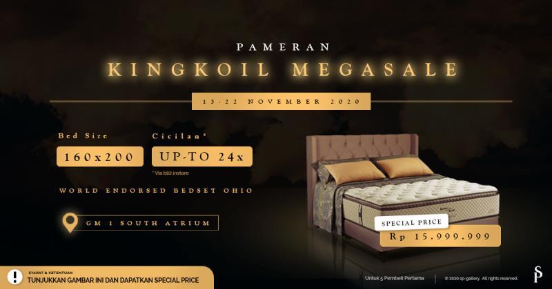 King Koil Mega Fair Special November