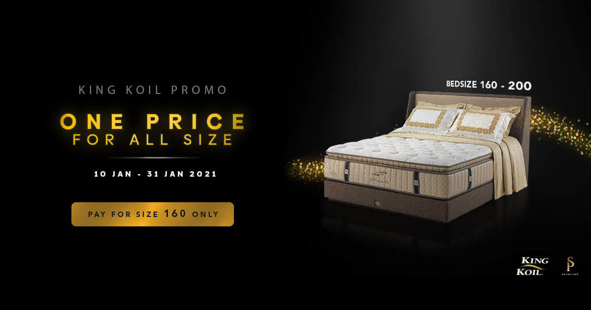 Promo One Price King Koil SP Gallery